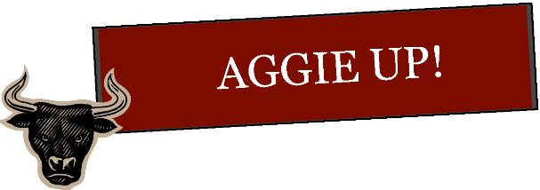 Aggie Up Banner