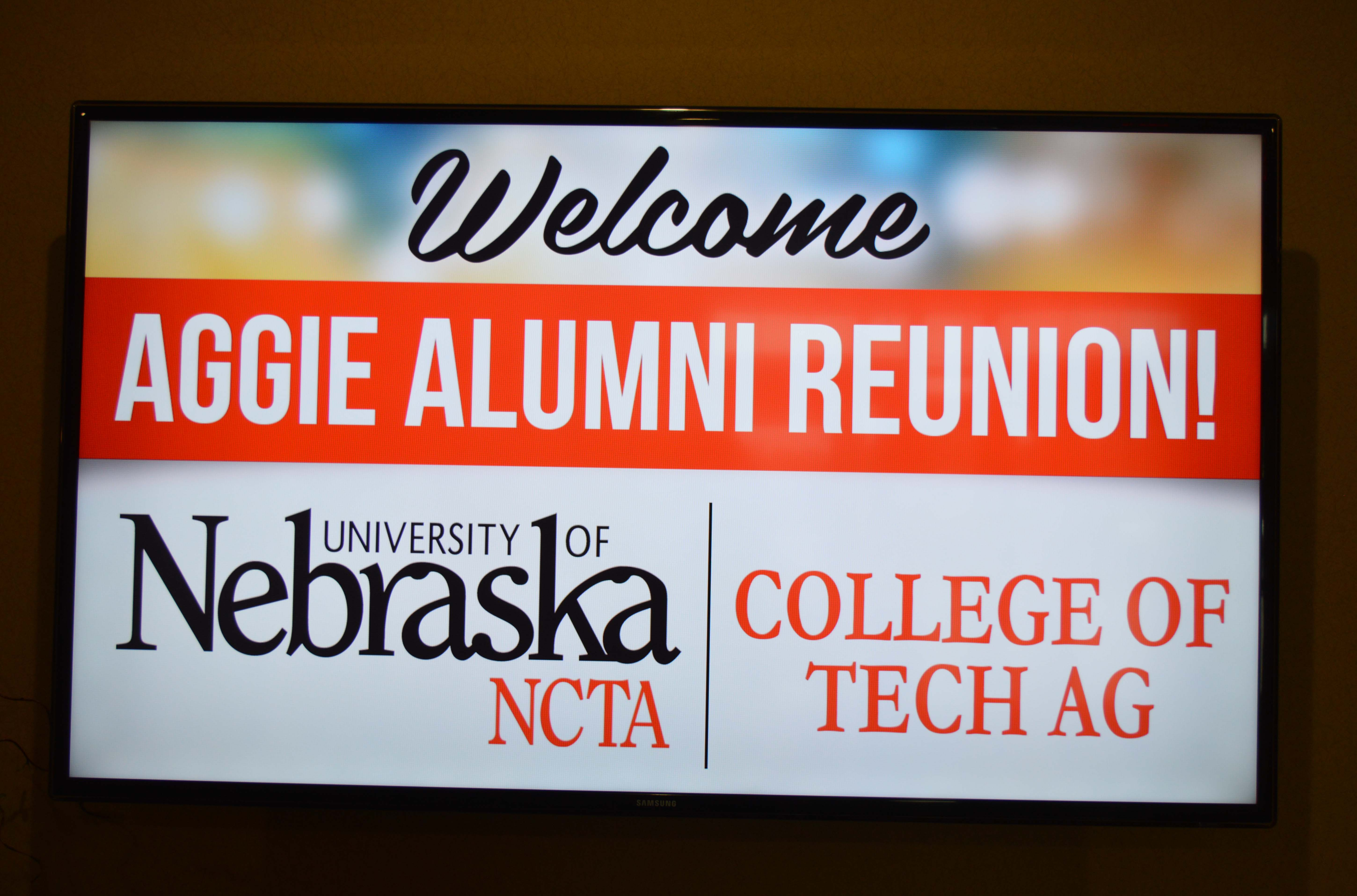 Meet in Curtis on June 26, 2021 for Aggie Alumni Reunion.
