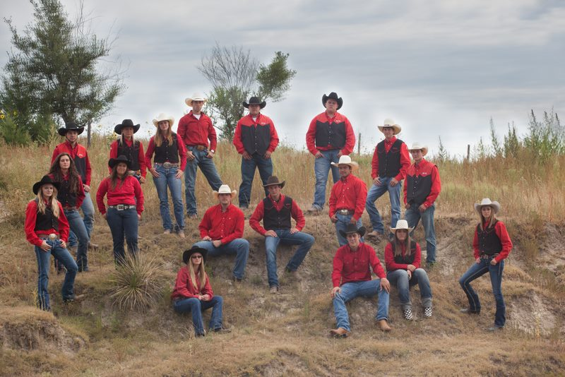 Aggie Rodeo Team group photo