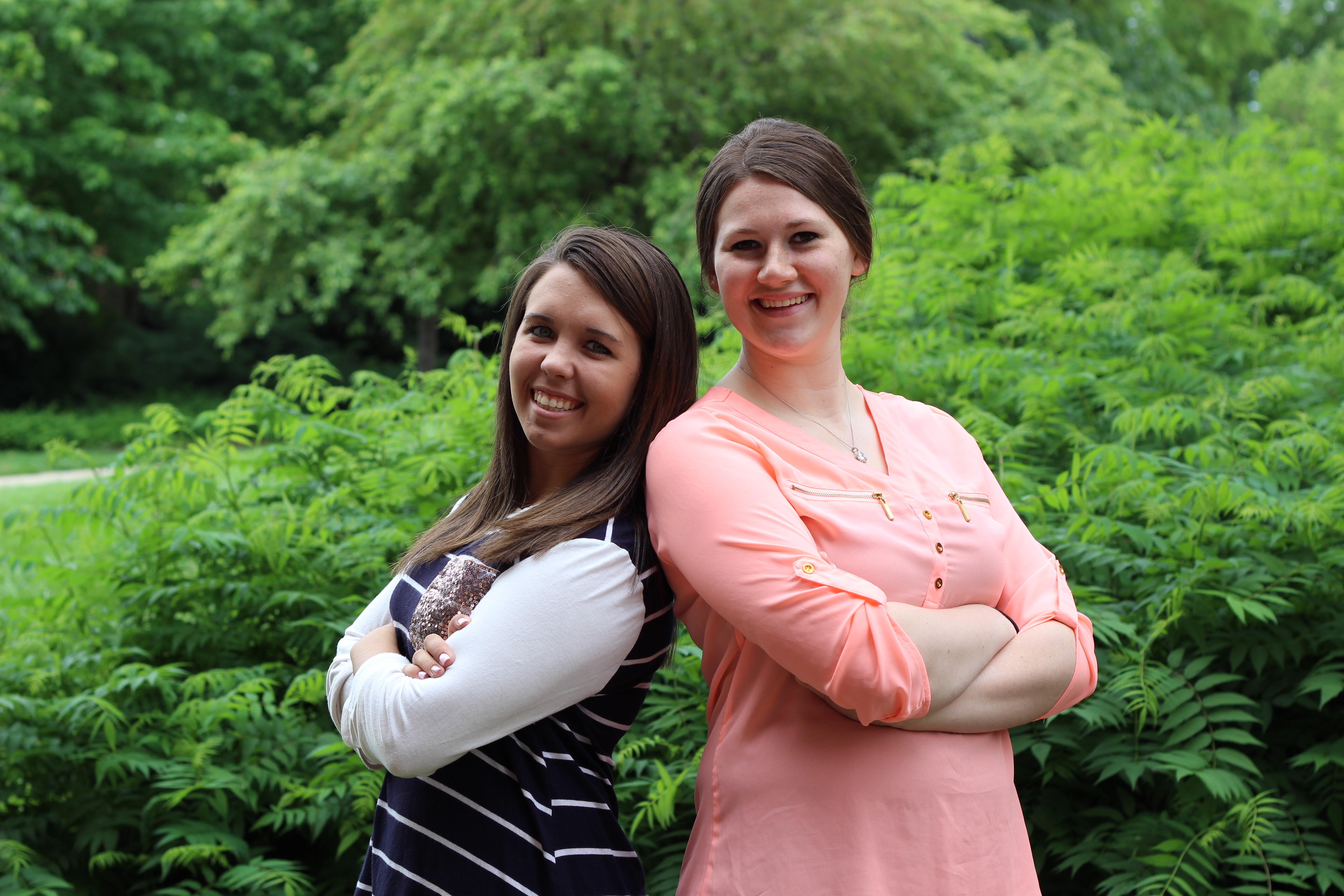 RFI Interns Courtney Ruda and Jamie Mashino
