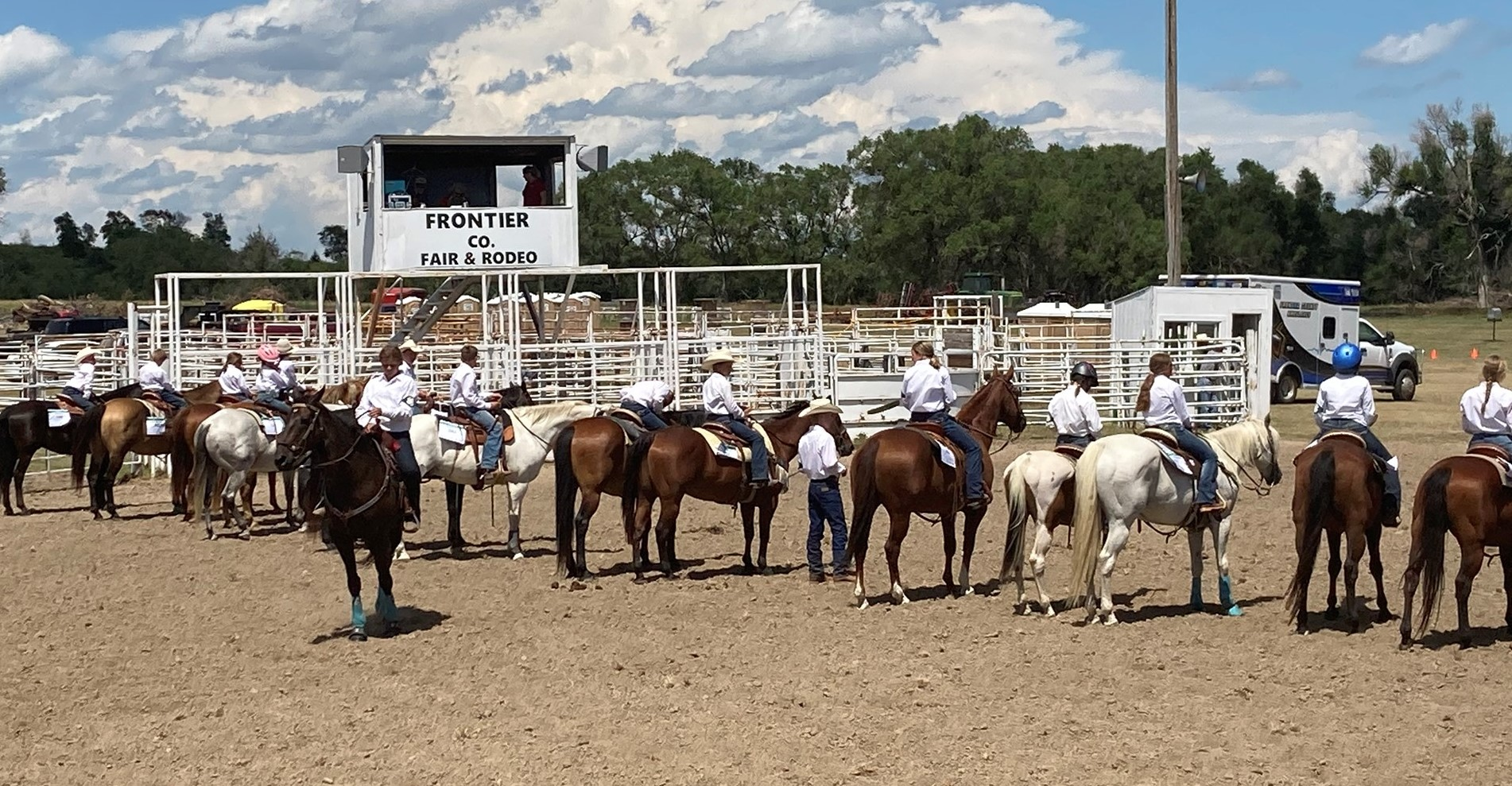 The 4-H Horse Show at Frontier County was Wednesday in Stockville. (Photo provided by Nebraska Extension Frontier County)