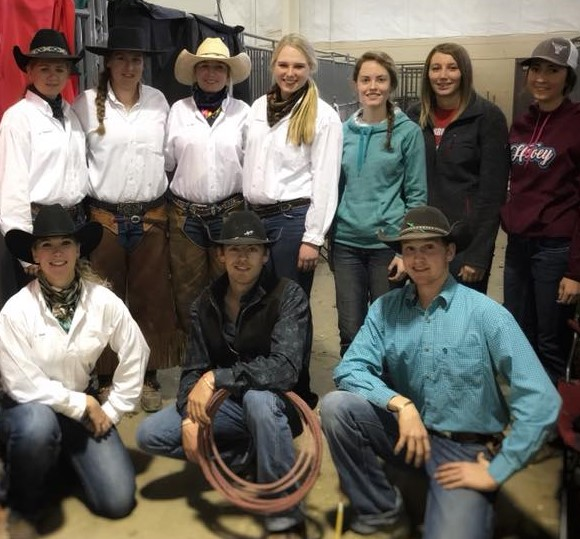 The NCTA Ranch Horse Team won Reserve Champion Collegiate Team at the 2017 Winterfest Championship in Colorado. (Ranch Horse Team photo)