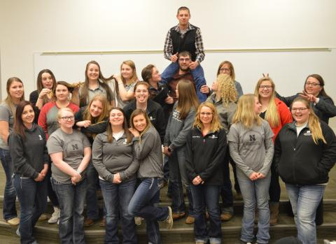 NCTA student ambassadors celebrate some Aggie fun during a student program last year. (NCTA file photo)