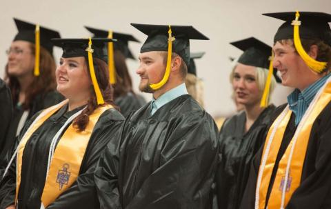 Nine NCTA students completed academic programs mid-year in December, 2016.  They are encouraged to return for commencement on May 4, 2017. (NCTA photo)