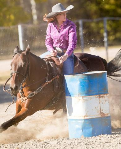 NCTA barrel racing will be at Mill Park in Curtis. (Craig Chandler photo)