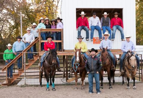 NCTA Aggie Rodeo travels to Brookings, S.D., for their season opener on April 7-8. (Craig Chandler / University Communication)