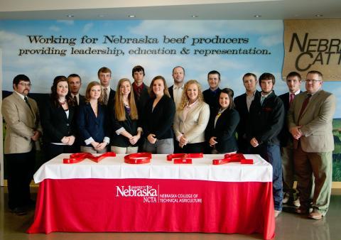 2015-16 NCTA Livestock Judging Team