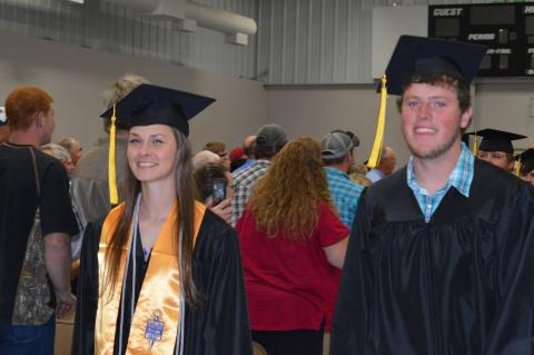 The Glenn Jurgens Memorial Scholarships are for students who plan to attend the Nebraska College of Technical Agriculture in Curtis.  (Crawford/NCTA News photo)