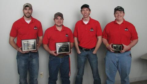 Second year team members include: Ross Steward of Littleton, Colo., Dalton Johnson of Gering, Nolan Breece of Holdrege, and Aaron Jensen of Goehner.