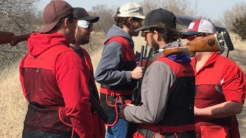 The NCTA Shotgun Sports Team competed in Lincoln last weekend and travels this Saturday to Hays, Kansas. (Photo by Alan Taylor / NCTA)