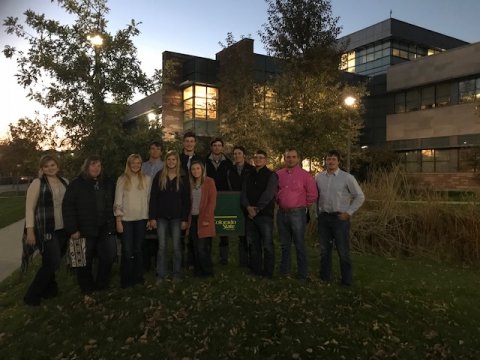 The NCTA Livestock Judging Team traveled to Colorado for their judging workouts and the CSU Classic in Fort Collins on Saturday. (NCTA photo)