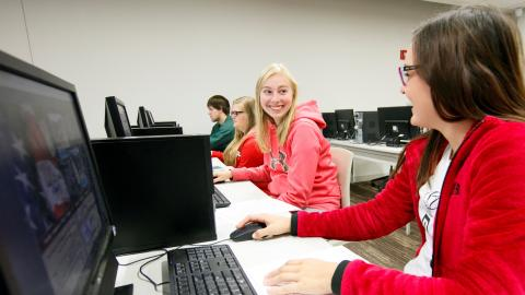 NCTA students will transition to remote classes beginning Monday, March 30.  (Chandler /NCTA Photo)