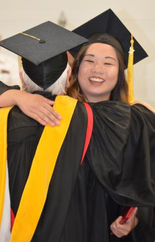 The Class of 2017 received 88 degrees on May 4. (Crawford/NCTA Photo)