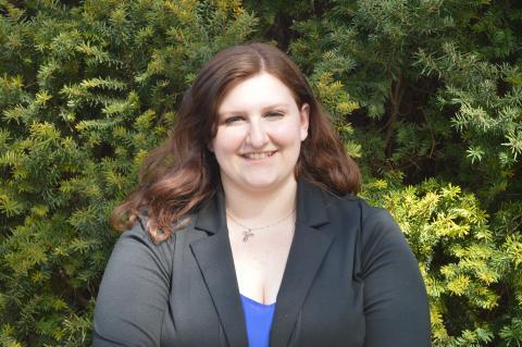 Erika Arambula has joined NCTA this month as Resident Life Manager. (B. Thomas/NCTA photo)