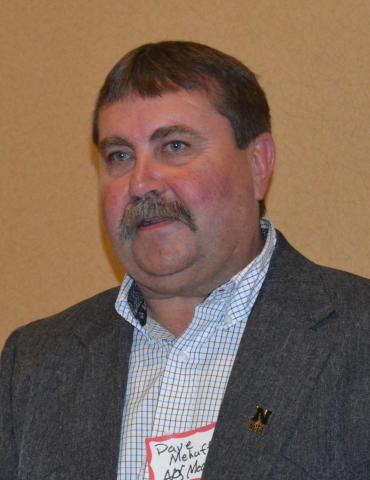 Dave Mehaffey, Ag Mech '93, is president of the Aggie Alumni Association