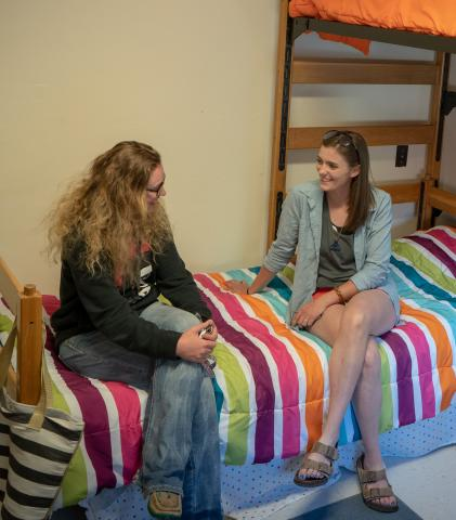 Students move into NCTA residence halls this weekend before classes begin on Monday. (NCTA News photo)