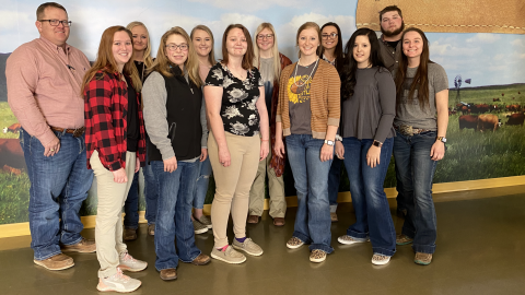The 4-H/FFA Club will celebrate FFA Week Feb. 22-29 at the Nebraska College of Technical Agriculture in Curtis.  (Photo by Annie Bassett / NCTA)