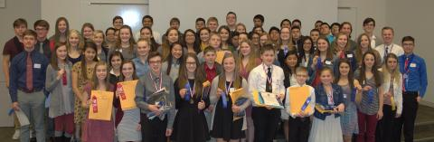 Junior and senior high students competed at the 2017 Science and Engineering fair at NCTA in Curtis.  Registration has tripled this year. (NCTA file photo).