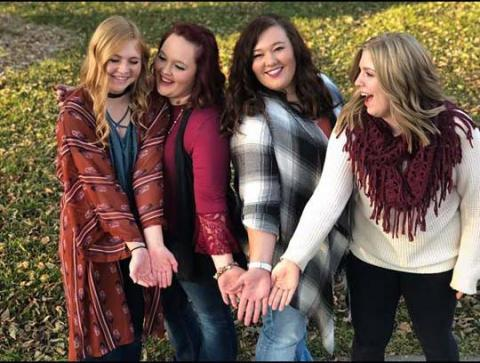 Four Aggies celebrate friendship and the colors of autumn during the 2018 fall semester at the Nebraska College of Technical Agriculture. (Courtesy photo).