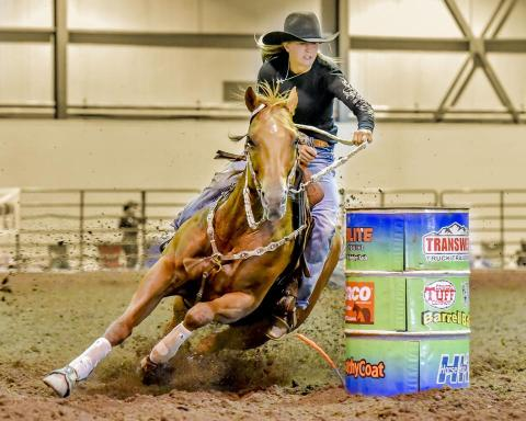 (Lexus Kelsch Barrel Racing/Photo Credit: Boaz Dov Elkes)