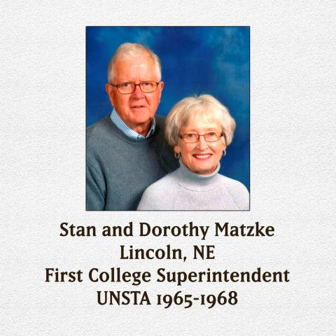 Matzkes will receive an UNSTA-NCTA Honorary Life Membership
