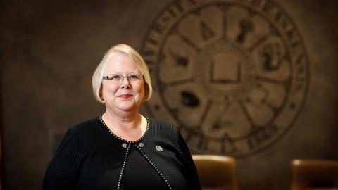 University of Nebraska Interim President Susan Fritz