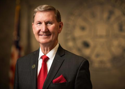 University of Nebraska President Ted Carter holds tuition at NCTA to $139 per credit hour for the next three years. (University of Nebraska photo)