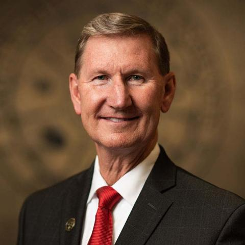 "University of Nebraska presidential priority candidate Walter ""Ted"" Carter will visit NCTA on Sunday."